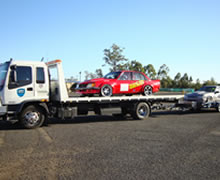 Asset Towing will safely transport race cars