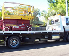Asset Towing transports machinery
