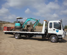 Machinery transport with Asset Towing