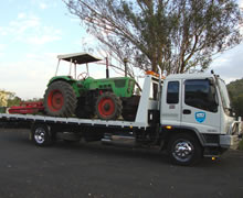 Slashers are easily transported with Asset Towing