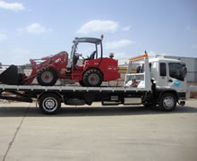Equipment and machinery are no problem for Asset Towing